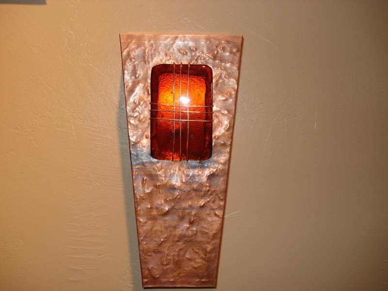 Copper Light Sconces » Mike Dumas Copper Designs Inc.