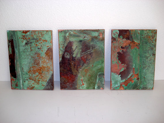 Copper Mirrors and Emerald Green Mike Dumas Copper