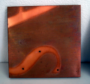 Recycled Copper Sign by Mike Dumas Copper Designs