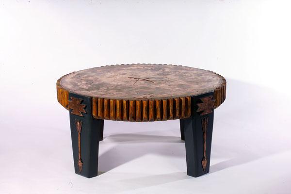 Thunderbird Copper Coffee Table