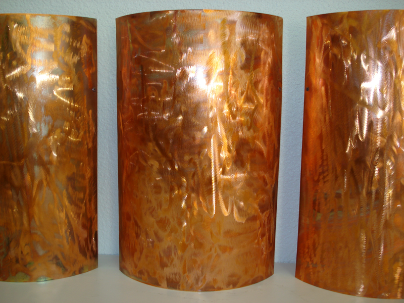 Copper Triptych 3pc