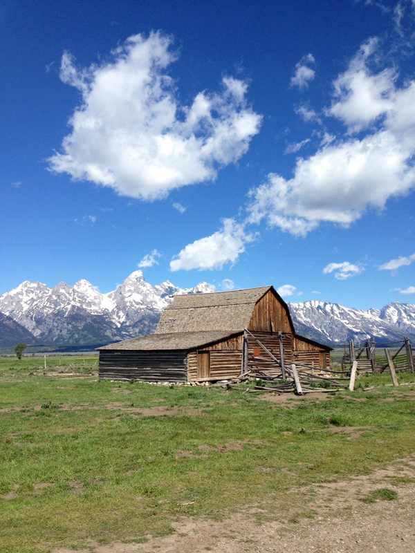 Old Barn in Jackson Hole, Wyoming
