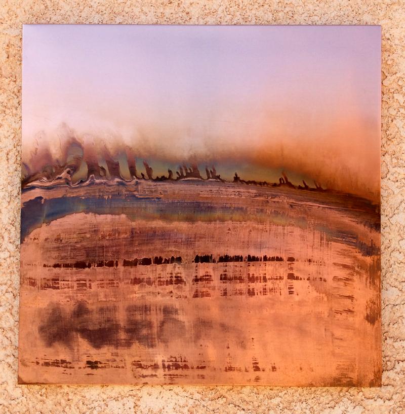 Copper Solar Flare