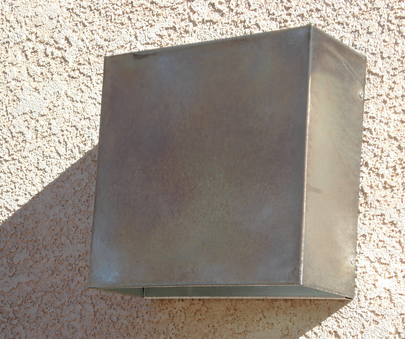 Square Steel Light Sconce