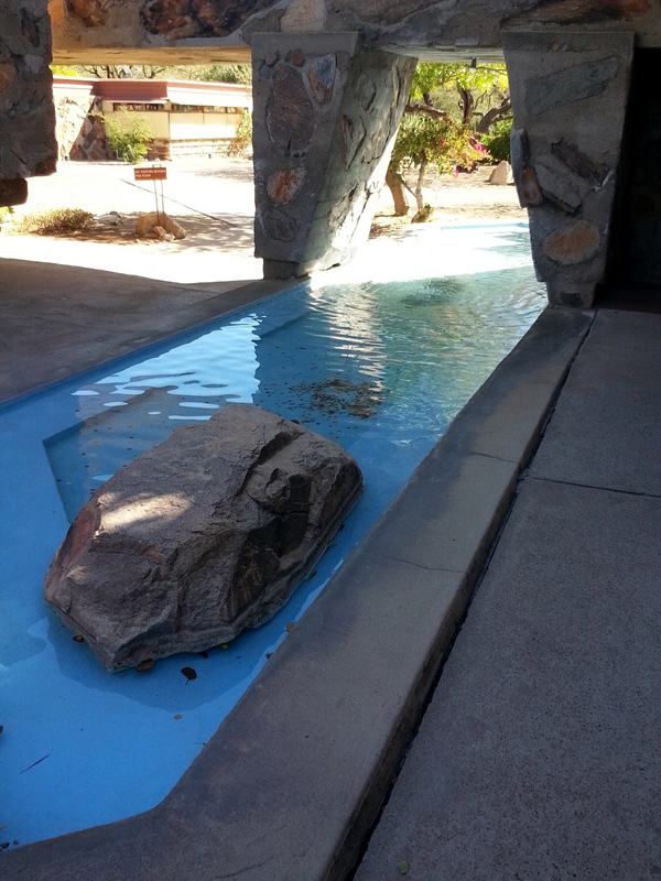 Artesian Spring at Taliesin West with Mike Dumas Copper Designs
