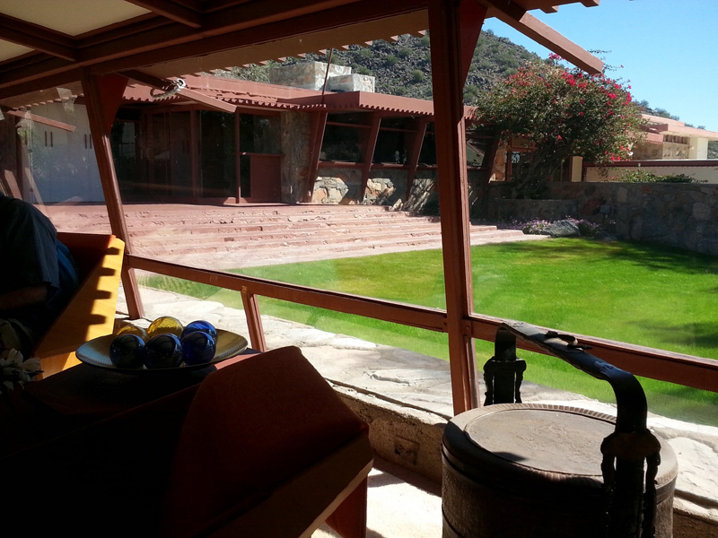 Living Spaces at Talilesin West with Mike Dumas Copper Designs