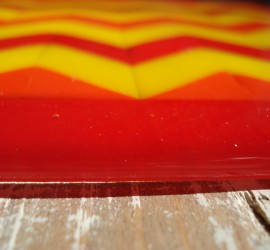 Summer's Colors in Fused Glass by Julie Dumas/ Mike Dumas Copper Designs Inc.