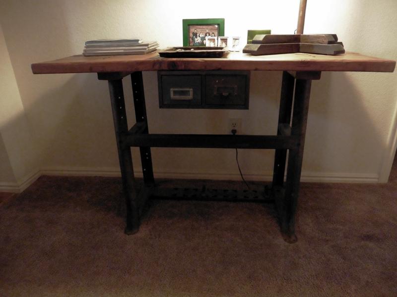 Repurposed Antique Table