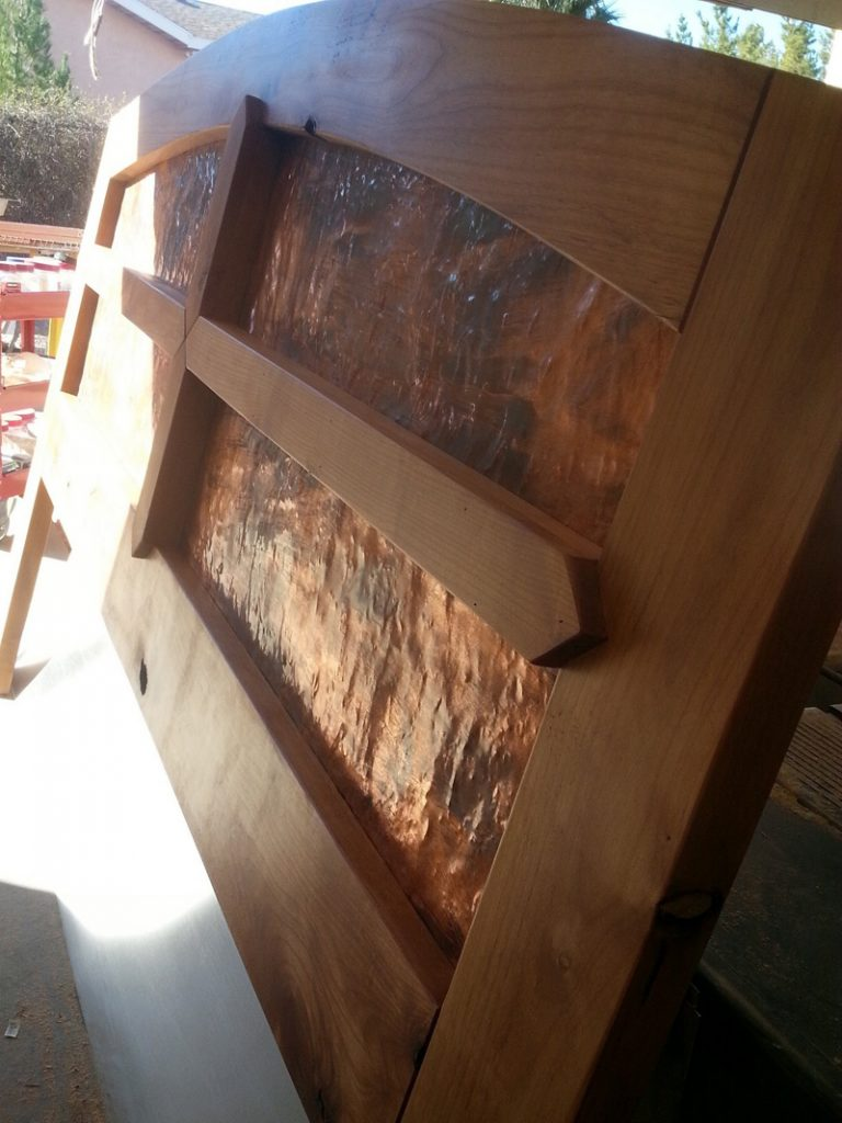 a made headboard headboards l listing copper beds alana double