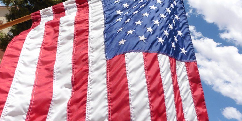 American Flag at Mike Dumas Copper Designs